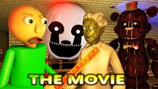 BALDI'S BASICS VS GRANNY NIGHTMARE CHALLENGE! MOVIE! (official) Minecraft Animation Horror Game
