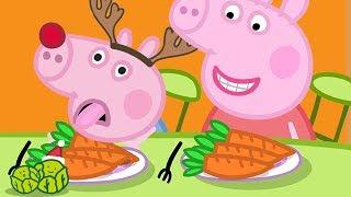 Peppa Pig en Español Episodios completos   Rebeca Liebre   Especial de Navidad   Pepa la cerdita