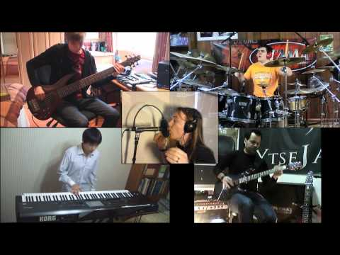 The Count Of Tuscany - Dream Theater - Split Screen Cover ( Space4Keys Tv )