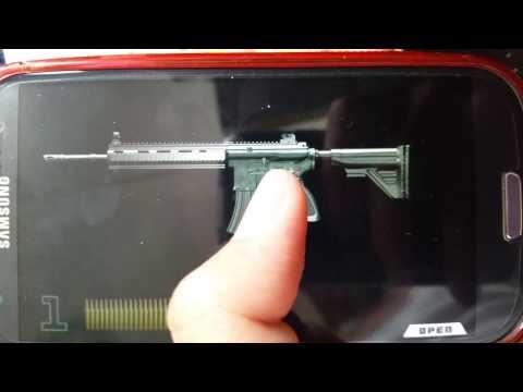 HK G36C vs HK416 full auto and semi auto iGun Pro