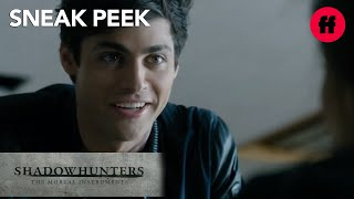 Shadowhunters | Season 1, Episode 6 Sneak Peek: Alec and Izzy Plot | Freeform