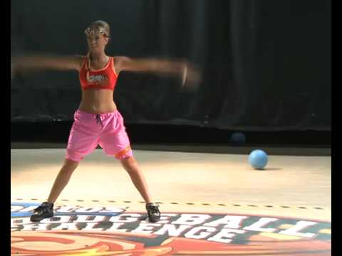 Doritos Dodgeball Live Slam a Celebrity with Aisleyne Horgan-Wallace