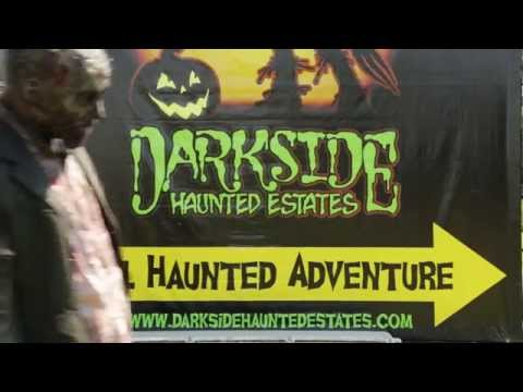 Darkside Haunted Estates Zombie Paintball Mayhem Hayride 2015 Commercial Spot #2