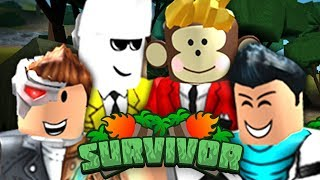 THE STRONGEST TEAM EVER!! (YouTuber Roblox Survivor )