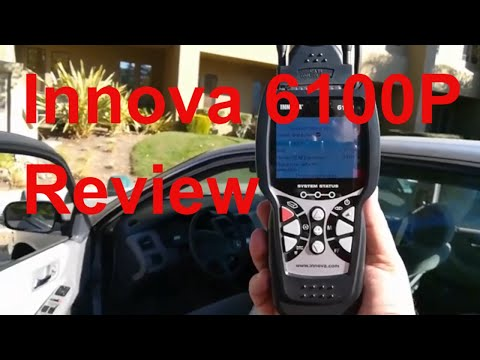 ▶️Honest Review: INNOVA 6100P OBD2 Scan Tool 2019 - How To Delete Check Engine Lights, SRS, ABS