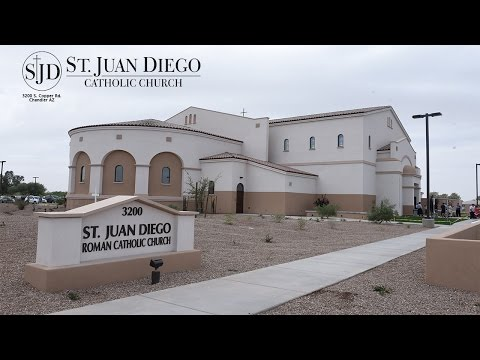 Primera Misa en la Iglesia Catolica San Juan Diego - Chandler AZ