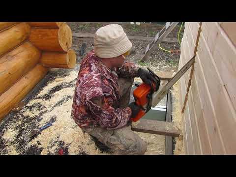 Как усилить стену деревянного дома