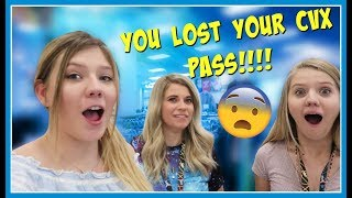 LOST OUR CVX PASS || FAN COULD PRETEND TO BE US || Taylor and Vanessa
