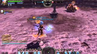 Dragon Nest Pvp Ведьма и Роботехник против Берсека и Хранителя