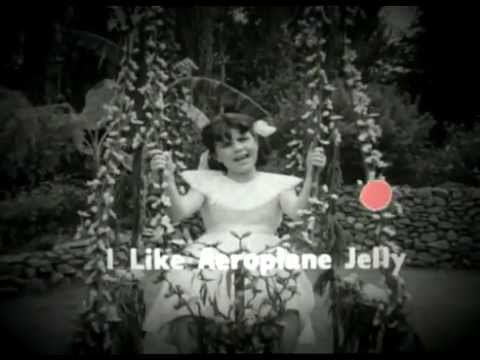 Aeroplane Jelly Ad  Girl on Swing Television Advertisement