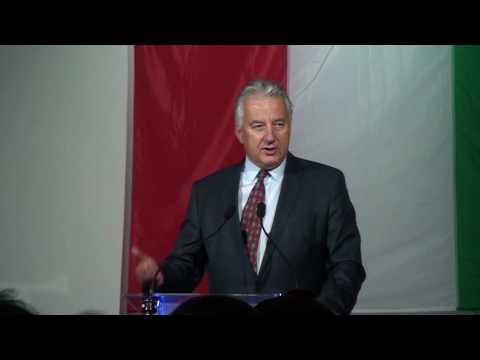Semjén Zsolt miniszterelnök-helyettes - Polgárdiban