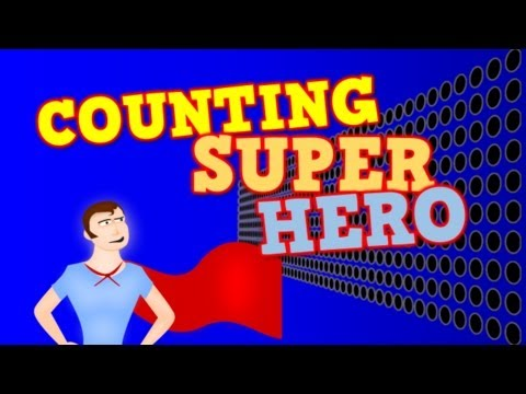 COUNTING SUPER HERO!  (Counting by 1s to 100 for kids)