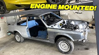 LS Engine Mounted In My BMW E30 (TIME FOR PAINT) - Episode 9