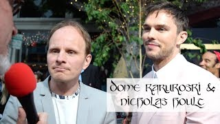 Dome Karukoski & Nicholas Hoult At Tolkien Premiere