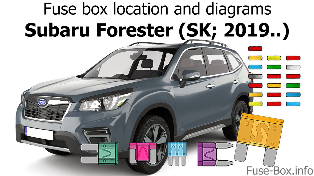 Fuse Box Location And Diagrams  Subaru Forester  Sk  2019