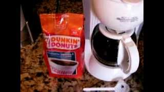 Dunkin Donuts French Vanilla Coffee Review