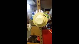 *NEW* Fire Alarm System Test 1-Halon Suppression System!