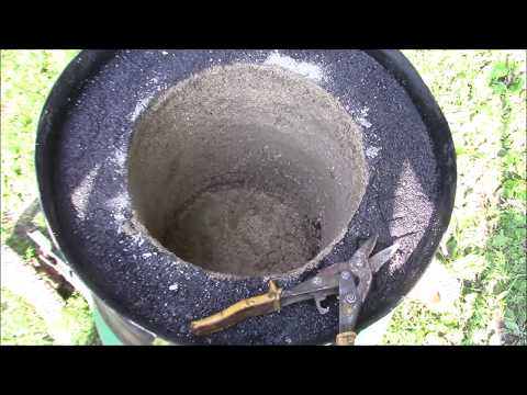 Homemade Foundry build Homemade smelting furnace