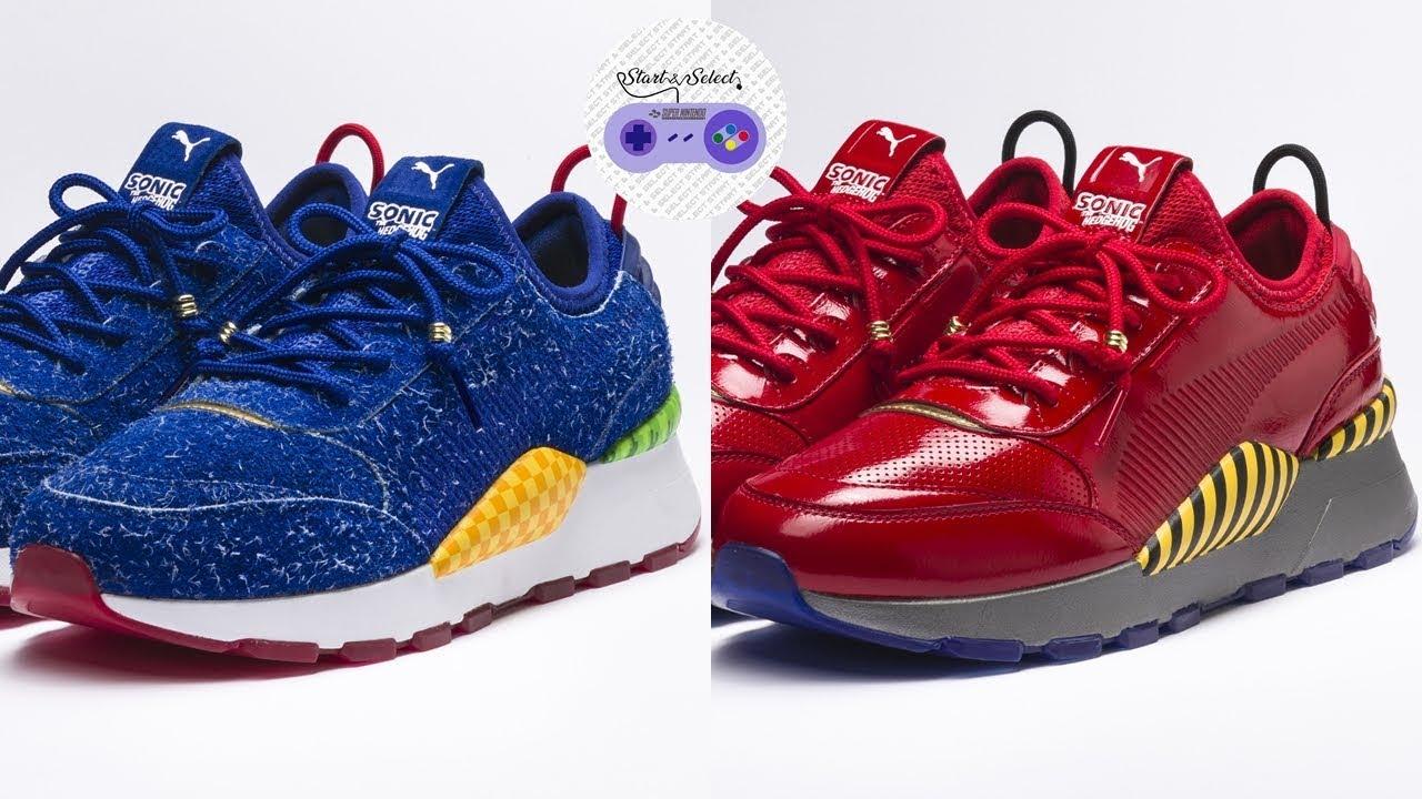 Sega X Oficiales De Puma Zapatos Sonic Deportivos Hedgehog The YRxqa