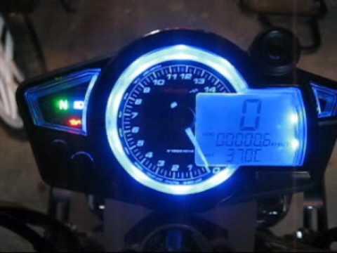 Gas Gauge Not Working >> Koso RX1N - Test run - Suzuki SV 650 - YouTube