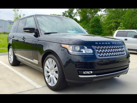 2015 Range Rover Supercharged Full Review /Start Up /Exhaust