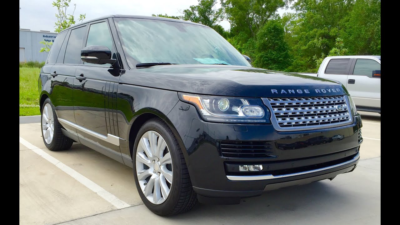 2015 Range Rover Supercharged Full Review Start Up Exhaust