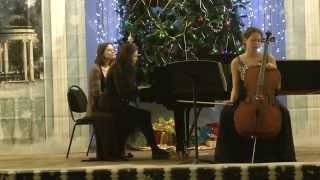 С.Рахманинов Соната для виолончели и фортепиано (2,3 ч.) Исп.Е.Христова, В.Зырянова