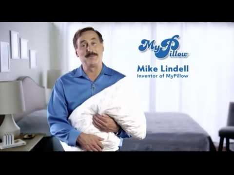 """Mike Lindell, inventor of """"My Pillow"""""""