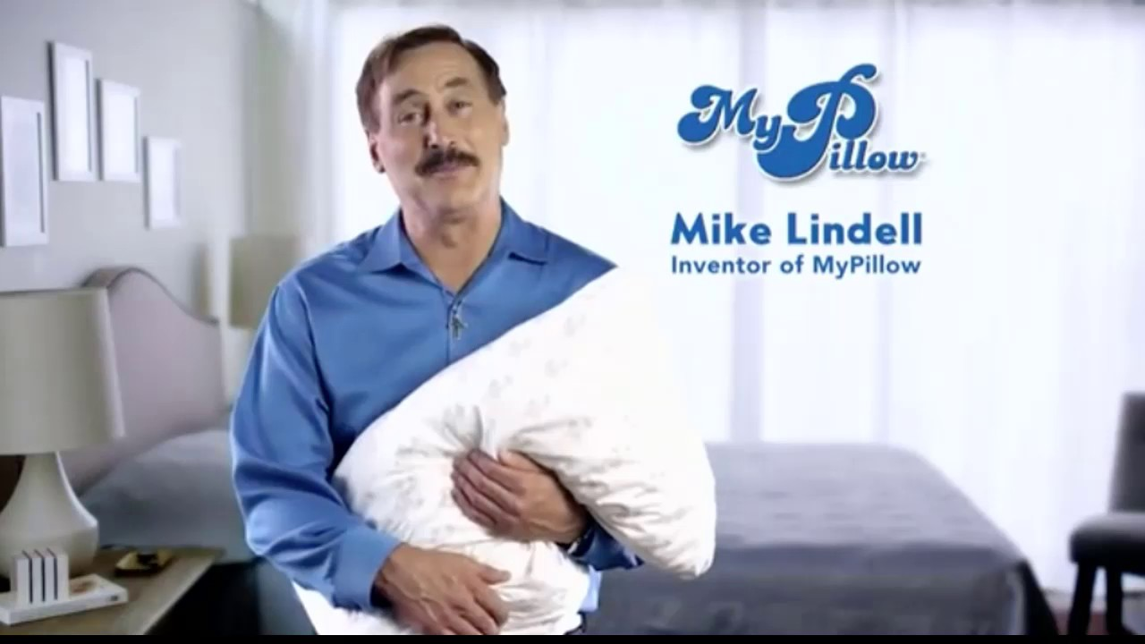 mike lindell inventor of my pillow youtube