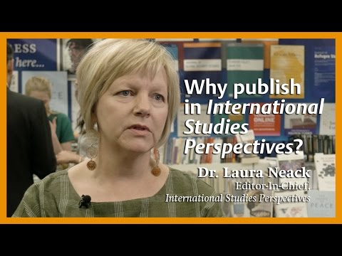 Why publish in International Studies Perspectives?