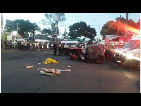 Asesinan a taxista porque mojó a motociclistas en Gustavo A. Madero