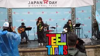 [#JAPANDAY2018] PUFFY AMIYUMI - Teen Titans Theme song