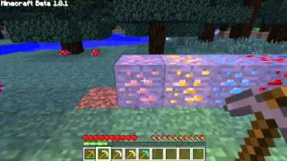 Minecraft BEGINNER Tutorial - Furnace and Ores
