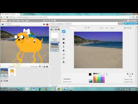 Adding a GIF to Scratch
