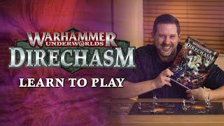 Warhammer Underworlds: Direchasm – Leąrn to Play