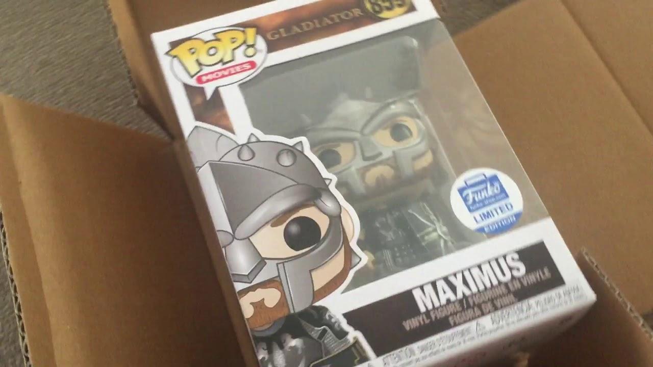 Gladiator Maximus Funko Shop Exclusive (Funko Pop Unboxing)
