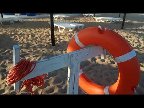 Пляж Заозерное Евпатория Западный крым