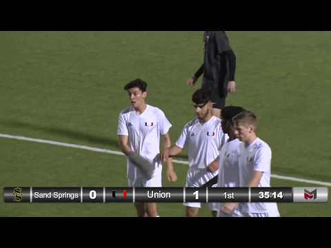 REPLAY Boys soccer vs. Sand Springs