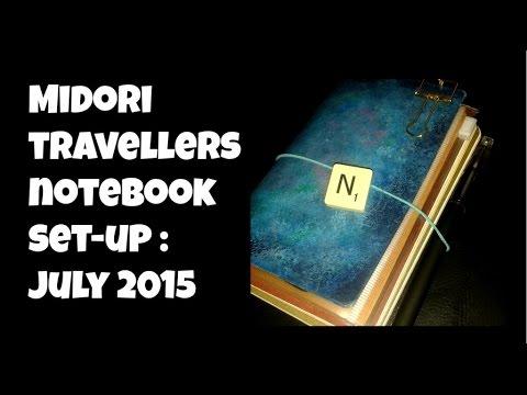 What I Learnt From Using A Pocket Sized Midori Travellers Notebook