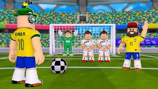PLAYING MY FAVORITE SPORT SOCCER in ROBLOX SUPER STRIKER LEAGUE