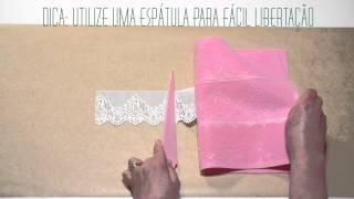 Como utilizar Tapetes para Glacé de Renda