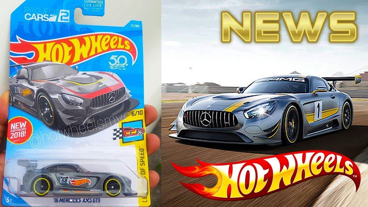 New Hot Wheels Mercedes-AMG GT3, Cadillac ATS-V.R And More ...