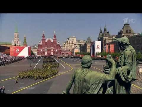 Москва: парад победы ВС Азербайджана на  Красной площади 2020 г