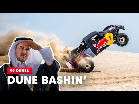 Dakar Champion Takes MotoGP Champion Dune Bashing in Qatar | 99 Dunes