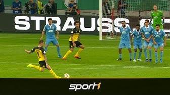 Top 10: Die schönsten Tore der ersten DFB-Pokal Runde 2019 | SPORT1