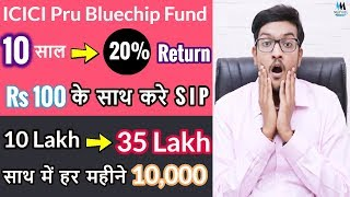 Must have Mutual Fund in your Portfolio ? ICICI Prudential Bluechip Fund 🔥🔥🔥Detail Analysis#5