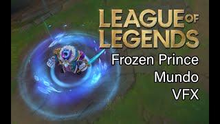 Frozen Prince Mundo skin visual effects