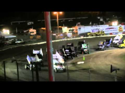 "Dominic Scelzi 7/13/13 Ocean Speedway Watsonville ""King of the West"" Main Event"