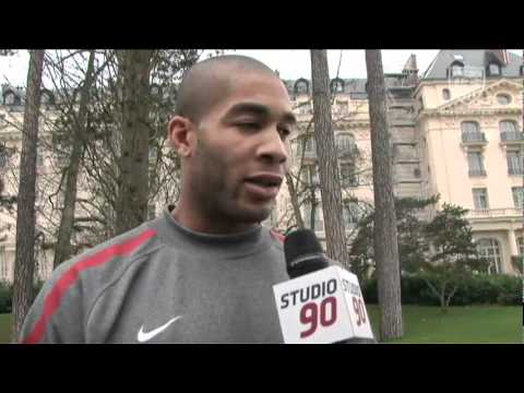 Studio 90: Oguchi Onyewu Returns to Where He Started His Career