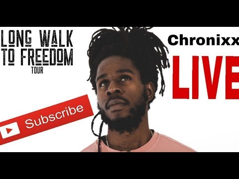 CHRONIXX ON FIRE @ BUJU BANTON LONG WALK TO FREEDOM CONCERT